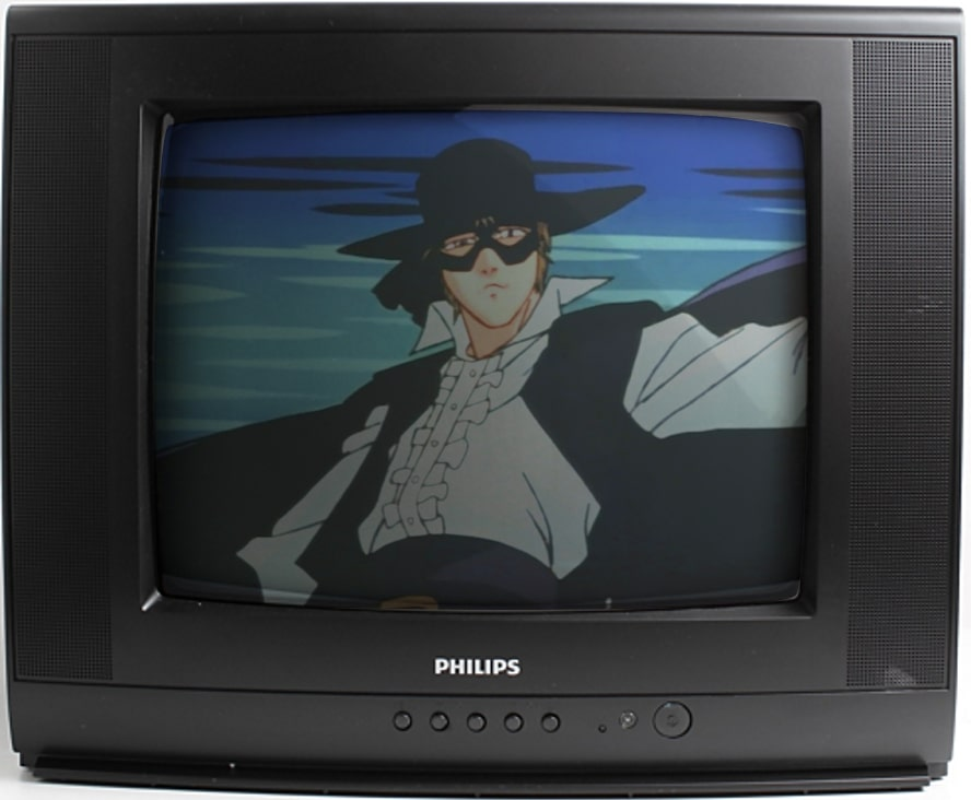 zorro serial animowany w tv