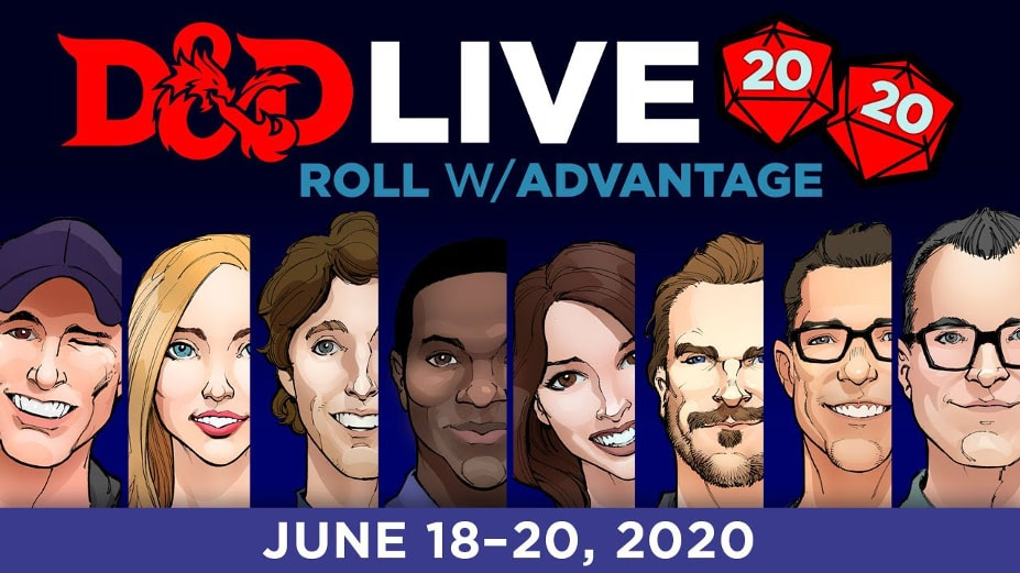 Gwiazdy kina wezmą udział w D&D Live 2020: Roll w/ Advantage