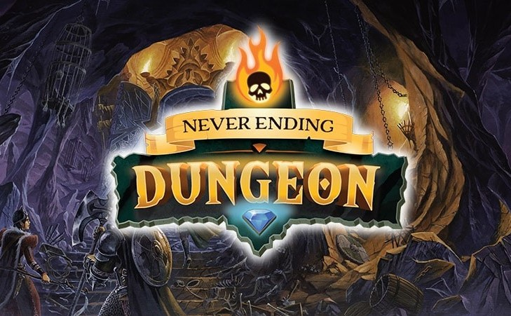 """In just a week the fundraiser for """"Never Ending Dungeon"""" on Kickstarter will start"""