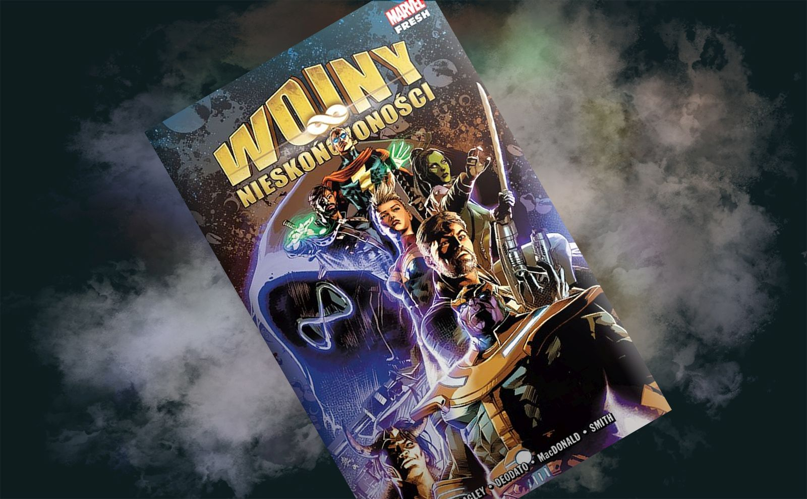 """Who will grab all the Stones? - review of the comic book """"Wars of infinity"""""""